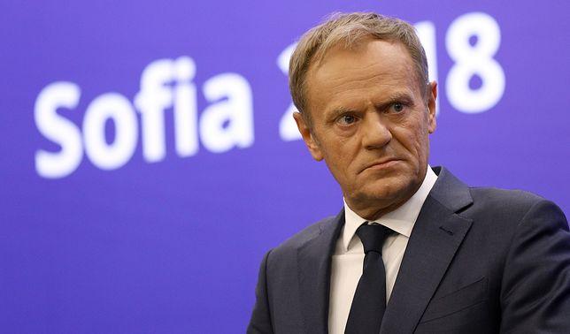 """Poruszenie po słowach Donalda Tuska ws. pata we włoskiej polityce. """"Miażdżący afront"""""""