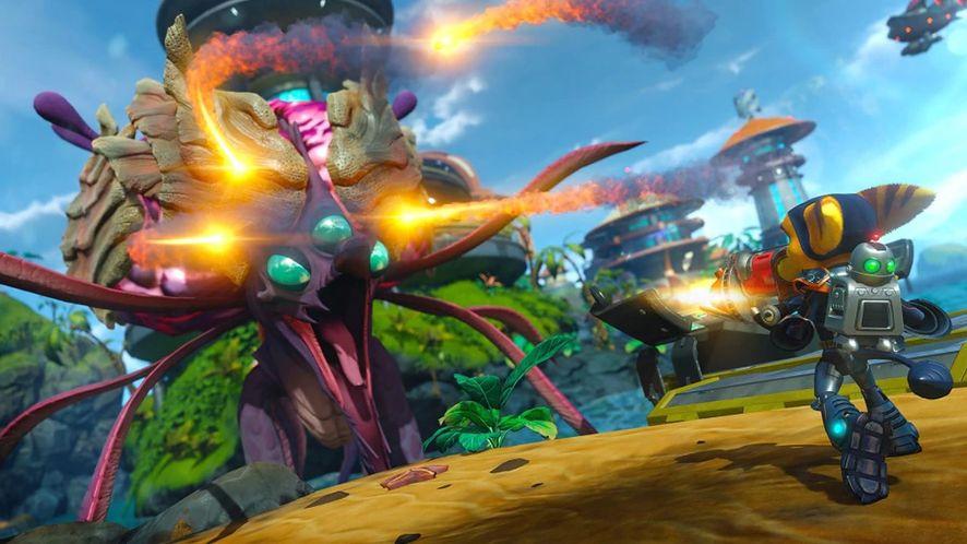 Sony znowu rozda darmowe gry. Od marca Ratchet and Clank na PS4 i PS5