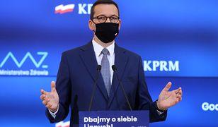Strefa czerwona w całej Polsce? Premier Mateusz Morawiecki komentuje spekulacje