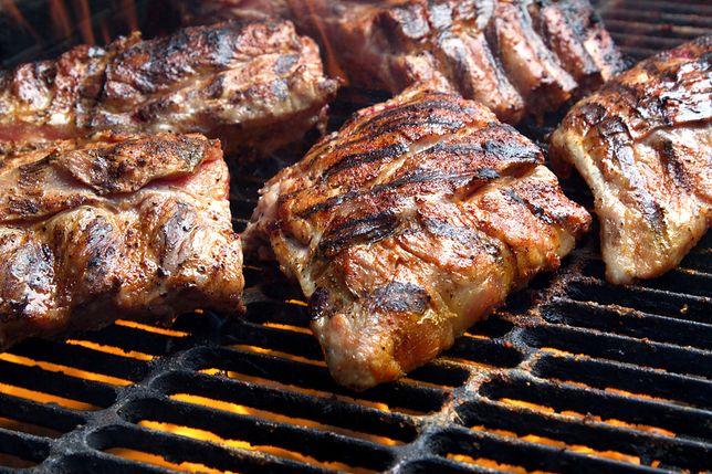 Przepis na żeberka z grilla