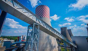 Ostrołęka. Protest Greenpeace przeciwko budowie elektrowni