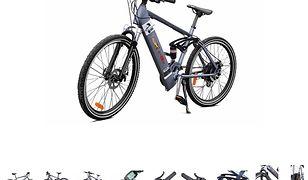 Elektryczny rower jest szybki i wygodny, ale można mieć kłopoty.