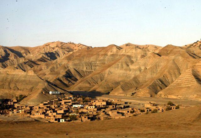 Wieś zmieciona z powierzchni ziemi - zobacz zdjęcia