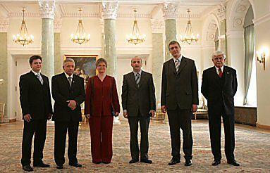 Prezydent Lech Kaczyński powołał nowych członków rządu