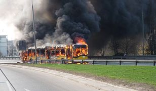 Po pożarach autobusów: kierowcy nie wiedzą, jak ratować