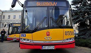 Prezentacja najnowszych autobusów dostarczonych przez firmę Solaris dla MZA
