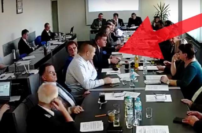Posiedzenie Rady Gminy Borowa.