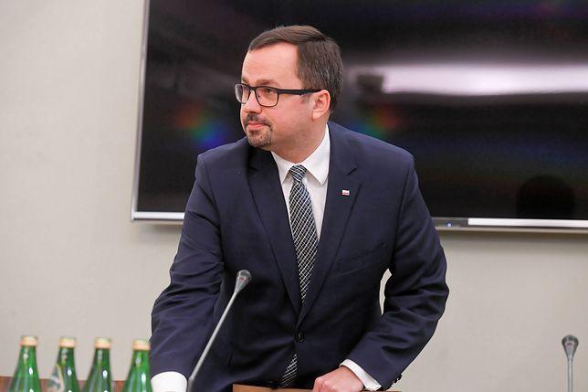 Marcin Horała, poseł PiS, szef komisji ds. VAT