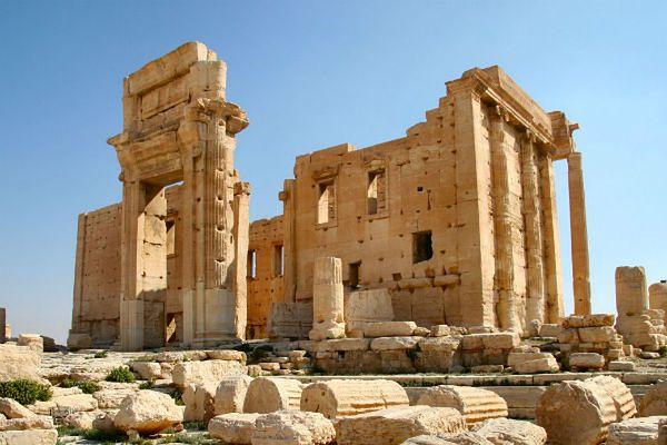 Dżihadyści zburzyli starożytną świątynię w Syrii