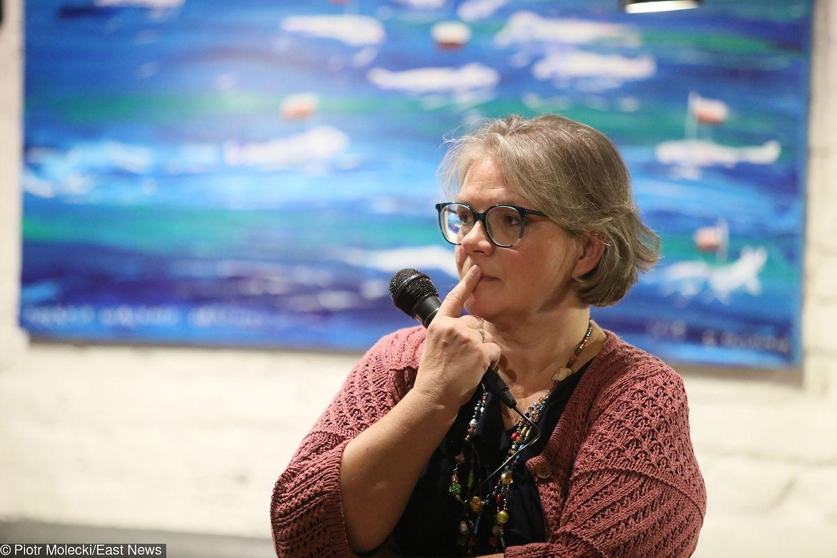 """Dorota Zawadzka o hejcie: """"Nie uczymy dzieci mówić miłych rzeczy"""""""