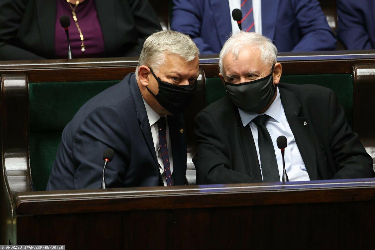 Sondaż dla WP. Kaczyński nie może spać spokojnie? EastNews