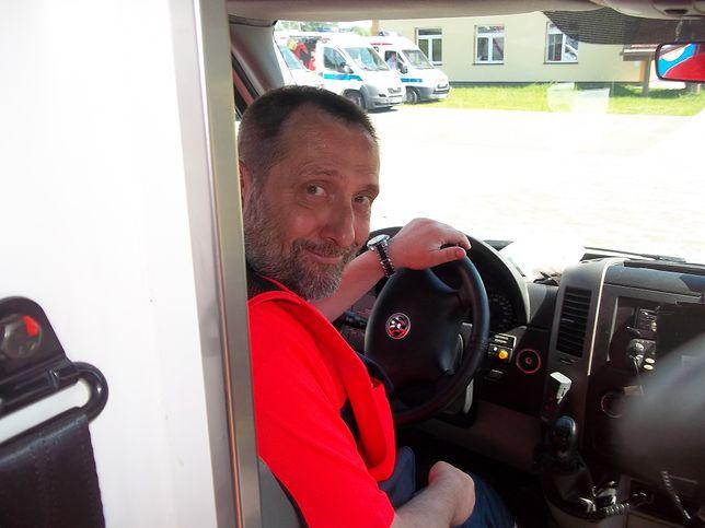 Janusz miał wylew na dyżurze. Ratownik nie wytrzymał stresu i pracy ponad normę