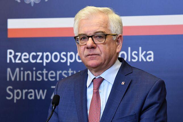 Polskie MSZ potępia działania Putina na Ukrainie