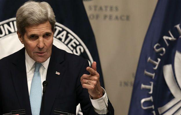 John Kerry: USA i Turcja pracują nad zamknięciem północnej granicy Syrii