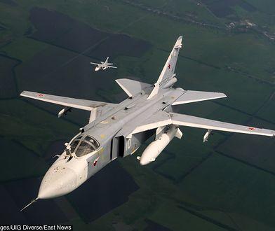 Rosyjski myśliwiec Su-24M