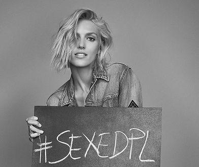 Anja Rubik, zdjęcie powstało w ramach akcji #sexedpl