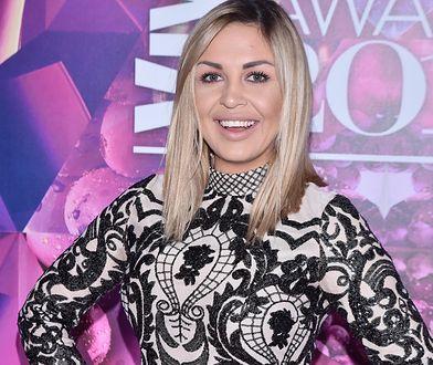 Suknia ślubna wywołała mnóstwo komentarzy na profilu Jaroszewskiej
