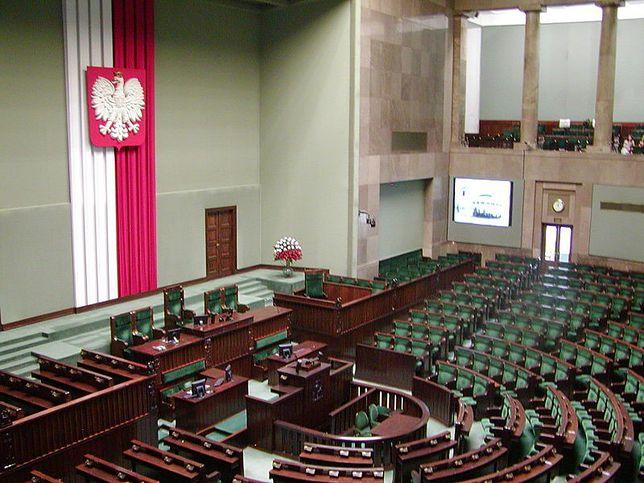 Wakacje parlamentarne, remonty w Sejmie