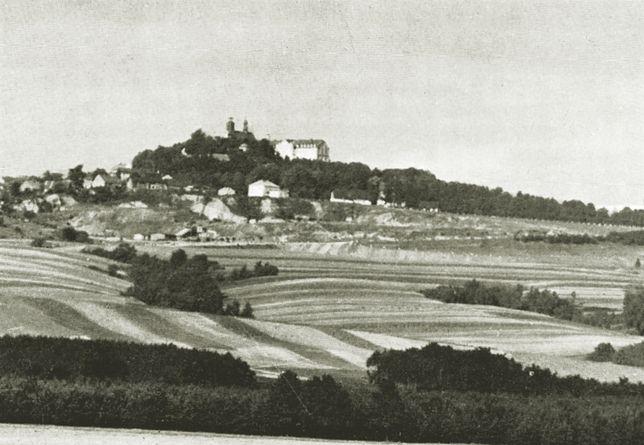 Góra Świętej Anny. To tam w 1940 roku założono jeden z obozów nadzorowanych przez Organisation Schmelt. Zdjęcie z połowy lat 30.
