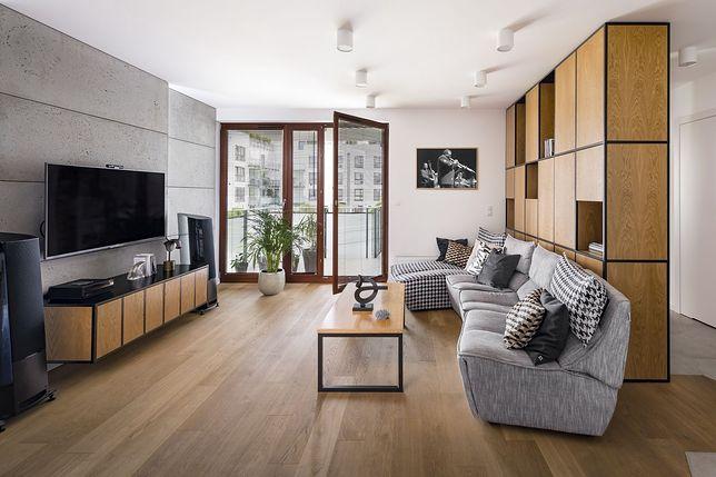 Industrialnie i bez sztampy – ciekawe mieszkanie na Wilanowie