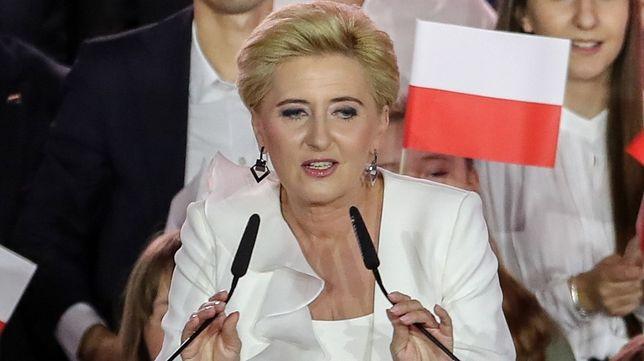 Agata Duda zabrała głos