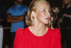 Katarzyna Warnke przeżyła chwile grozy. Musiała ewakuować się z córką