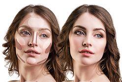 Konturowanie twarzy - jak modelować rysy twarzy podkładem?