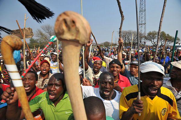 RPA: strajk w kolejnej kopalni. Górnicy przestali wydobywać złoto