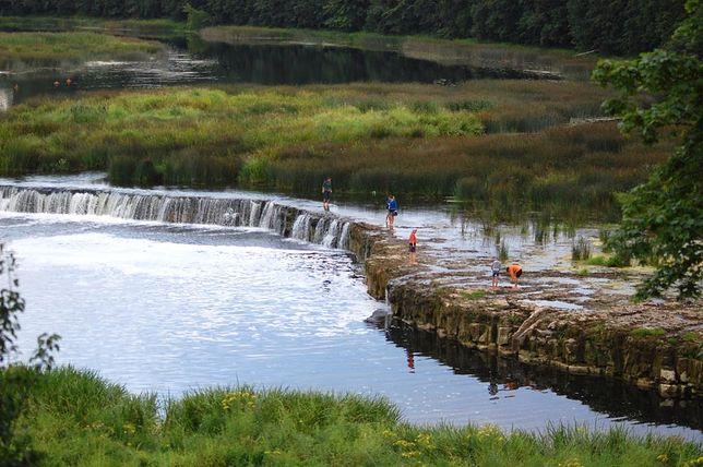Ventas Rumba - najszerszy wodospad w Europie