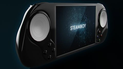 SteamBoy — kieszonkowa Steam Machine