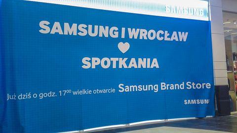 Wielkie otwarcie Samsung Brand Store we Wrocławiu: ciasno, głośno, nic nowego