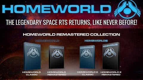 Homeworld HD zmienia się w Homeworld: Remastered Edition. Będzie wydanie kolekcjonerskie