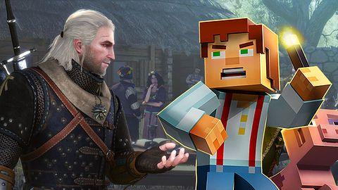 Premiery: Minecraft: Story Mode z bloczków czy Serca z Kamienia dla wiedźmina?