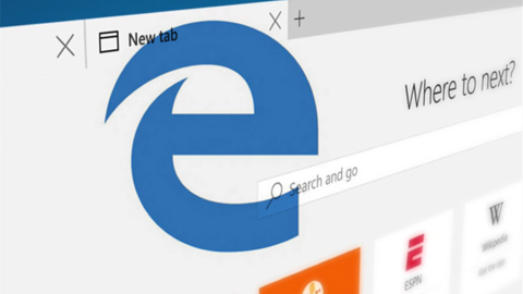 Edge się zawiesił, więc Microsoft kontynuował prezentację w Chromie
