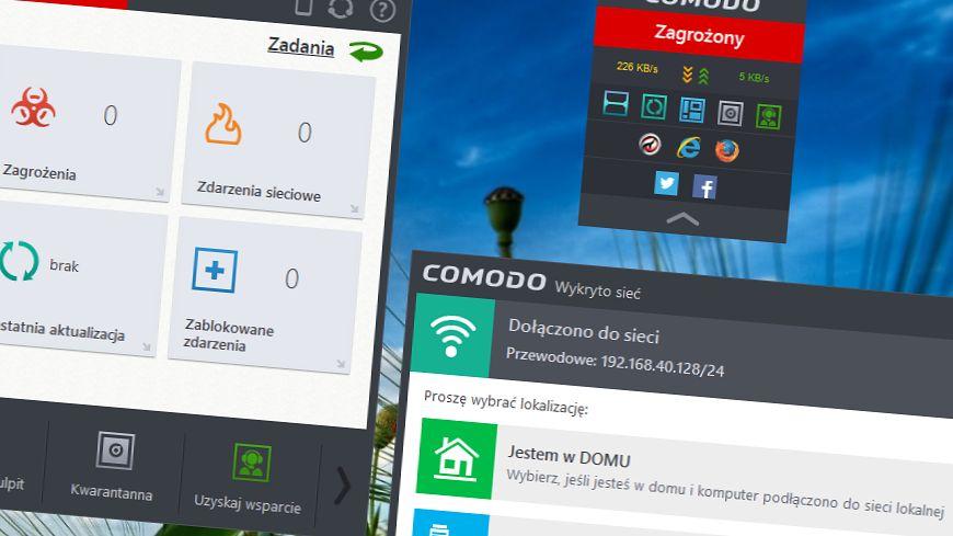 Comodo z płaskim interfejsem i sprzętową wirtualizacją już dostępne