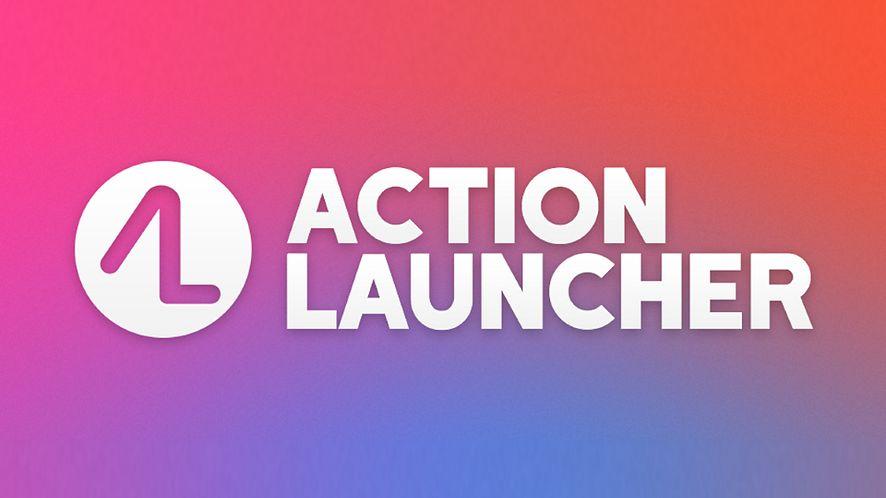 Action Launcher z kolorowaniem ikon w wyszukiwarce