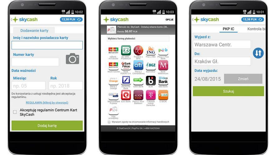 Nowa wersja aplikacji SkyCash pozwoli dodać karty płatnicze za pomocą zdjęć