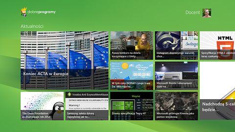 dobreprogramy dla Windows 8 z logowaniem i komentarzami