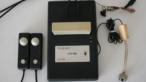 Unitra Unimor Tele-Set GTV 881 – najstarsza polska konsola do gier i jedna z pierwszych na świecie