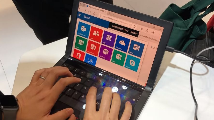 Lenovo przedstawia ThinkPad X1 Fold. Znamy część specyfikacji elastycznego notebooka