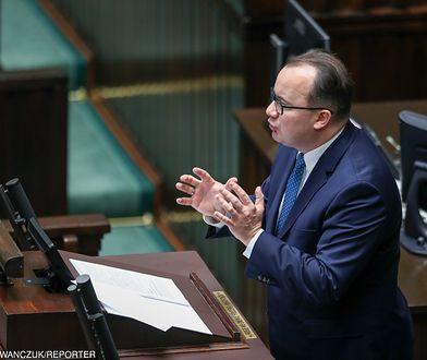 Adam Bodnar przemawia w Sejmie, grudzień 2017 r.