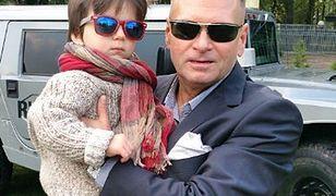 Krzysztof Rutkowski z synkiem.