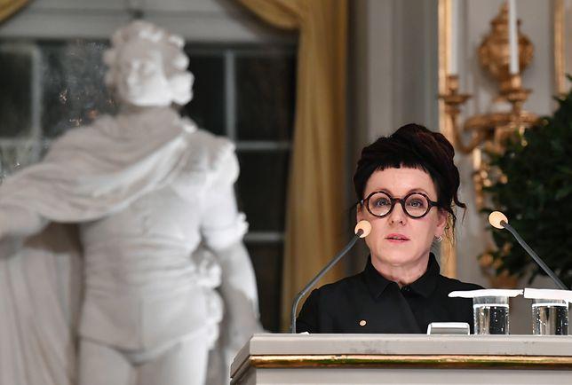 Olga Tokarczuk otrzymała literacką nagrodę Nobla za 2018 r.