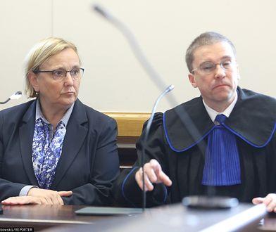 Europosłanka Róża Thun na rozprawie sądowej