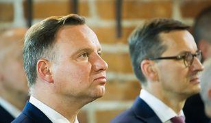 Pałac Prezydencki. Andrzej Duda przyjął dymisję rządu Mateusza Morawieckiego