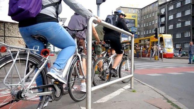 Podpórki dla rowerzystów wkrótce w Warszawie