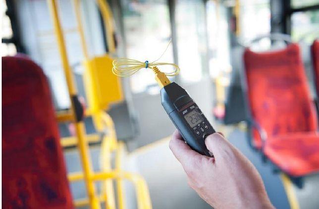 W autobusach jak w szklarni. Po czym poznać klimatyzowany pojazd komunikacji miejskiej?
