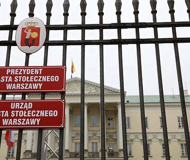 Warszawa. CBA w ratuszu