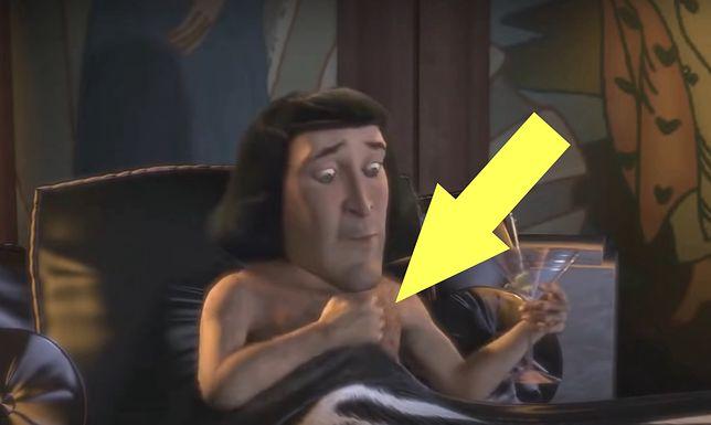 """Oglądaliście """"Shreka""""? Będąc dziećmi, pewnie nie zwróciliście na tę scenę uwagi"""