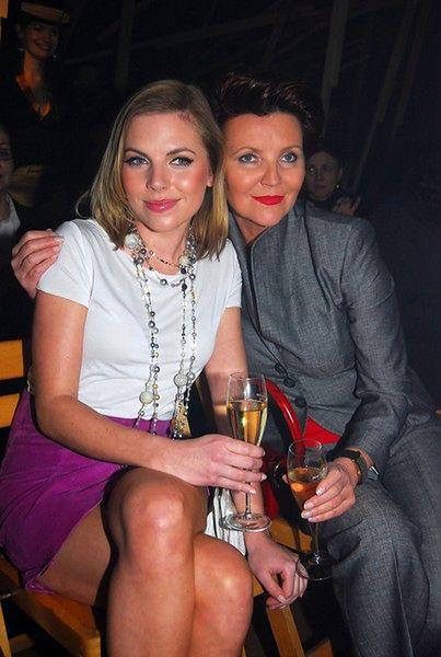 Aleksandra Kwaśniewska i Jolanta Kwaśniewska